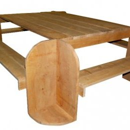 Table et Bancs n°3